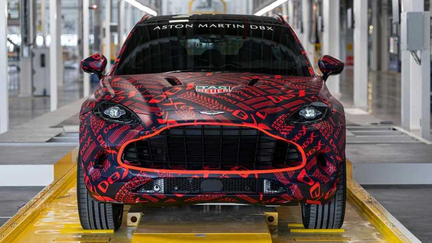 L'Aston Martin DBX annonce ses très nombreuses options et accessoires