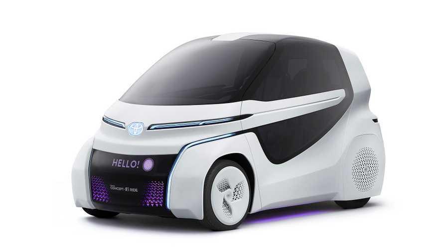 Toyota Concept i-Ride und i-Walk auf der Tokyo Motor Show 2017