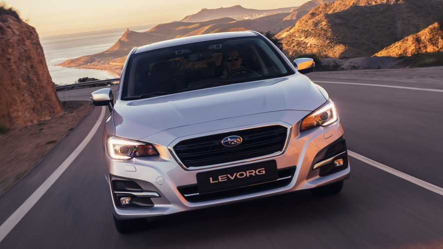Refreshed Subaru Levorg revealed