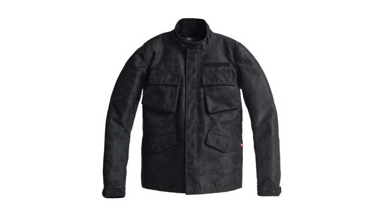 Pando Moto M65 Camo Black Jacket