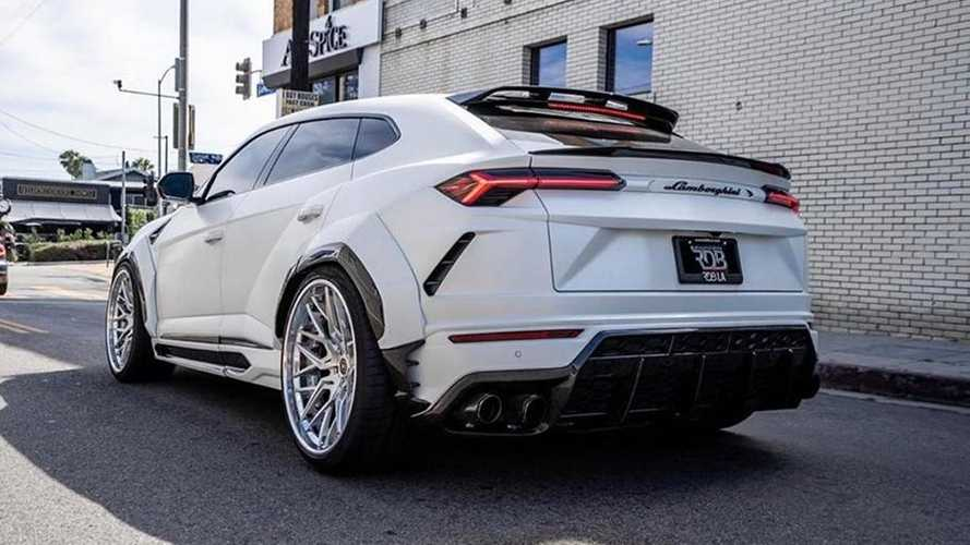 Voici le Lamborghini Urus le plus sauvage du moment !