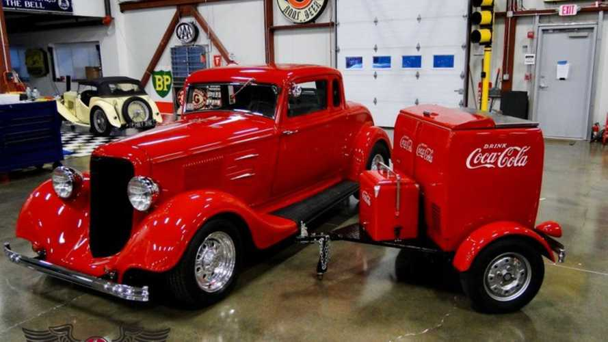 1934 Plymouth PE Hot Rod Comes With Tons Of Custom Upgrades