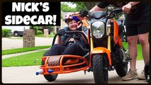 honda grom sidecar project angel build