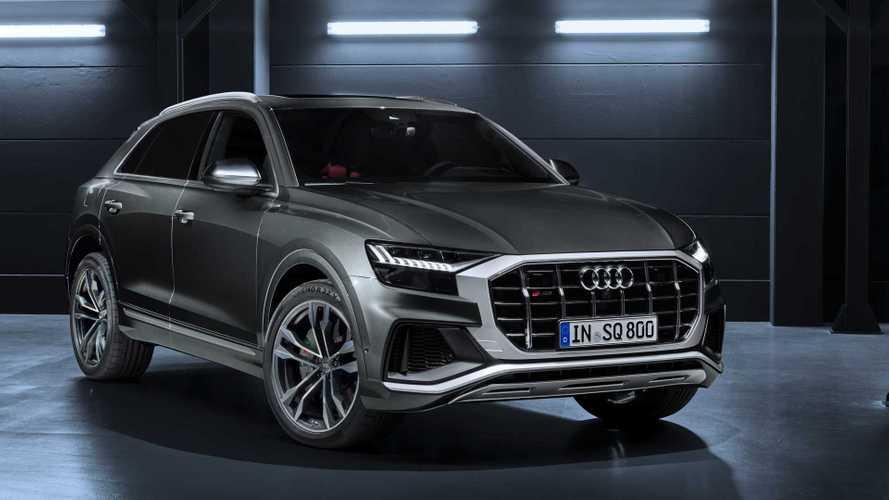 Enyhe hibrid rendszerrel a fedélzetén mutatta meg magát az Audi SQ8