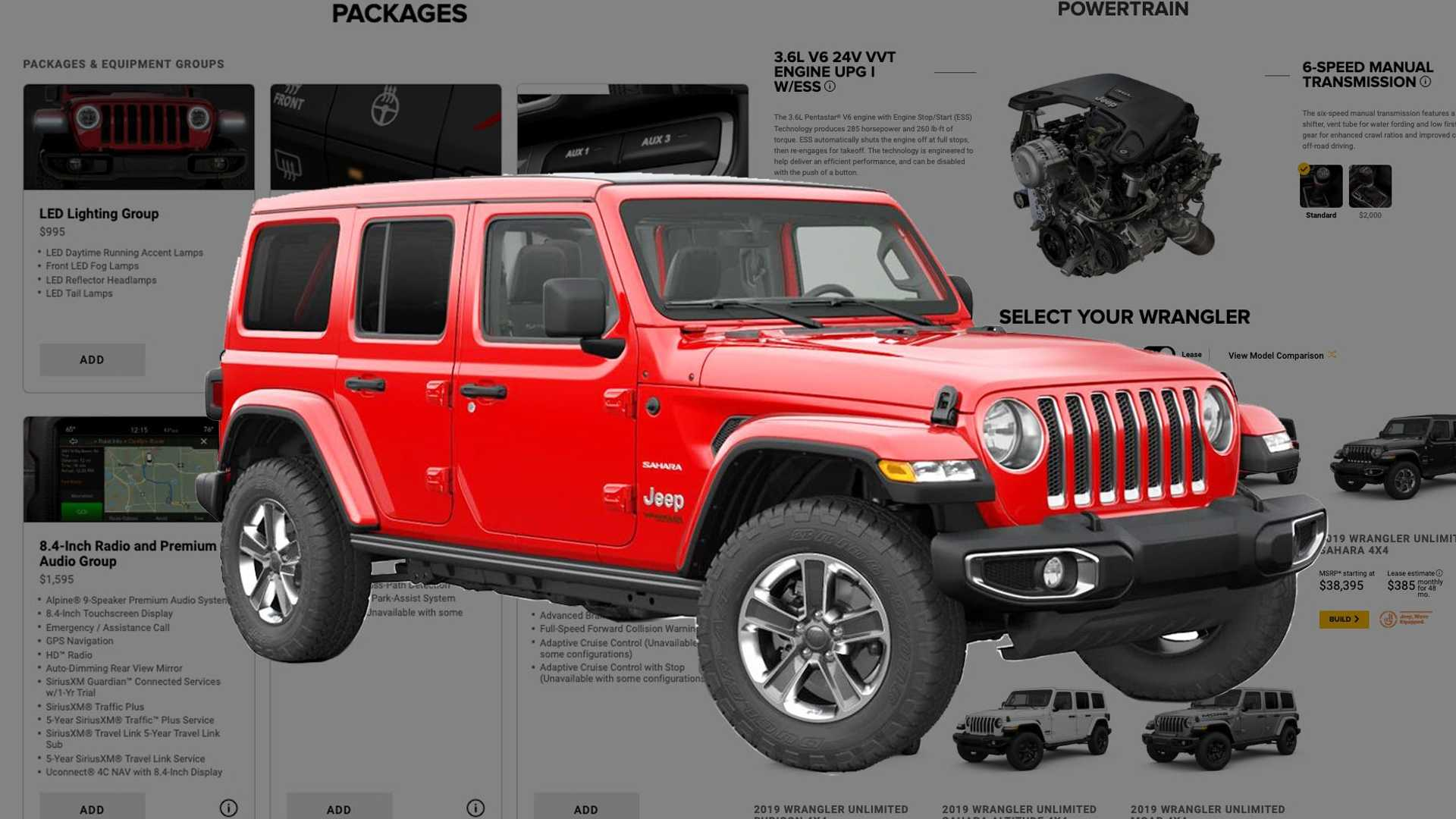 Jeep 2 5 Engine >> Best Ways To Spec A 2019 Jeep Wrangler
