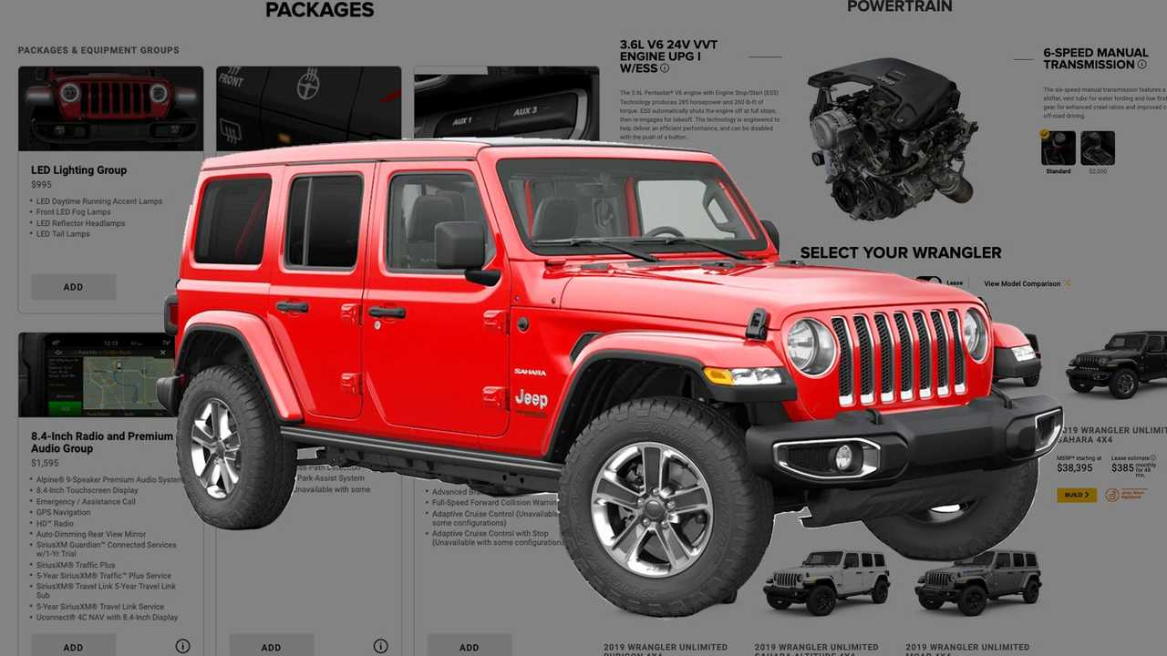 2019 Jeep Wrangler: News, Design, Equippment >> Best Ways To Spec A 2019 Jeep Wrangler