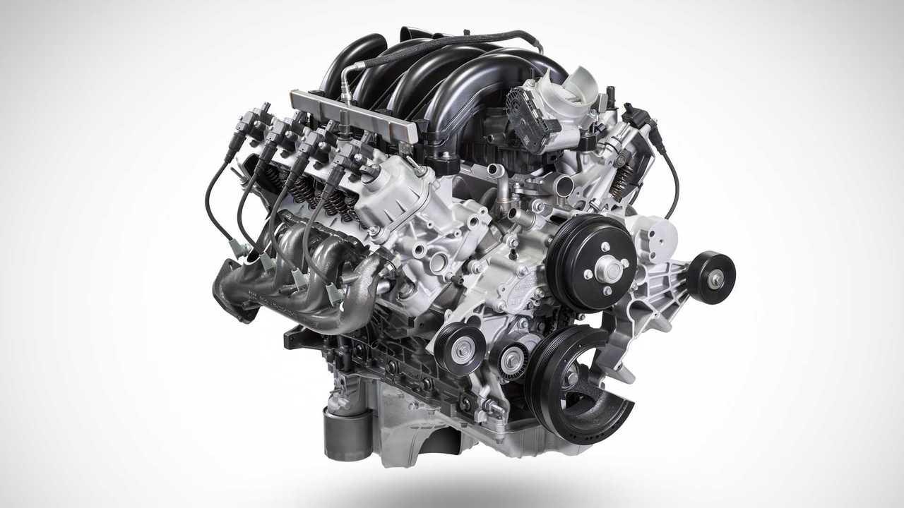Mesin V8 7,3 liter pada Ford Super Duty 2020.