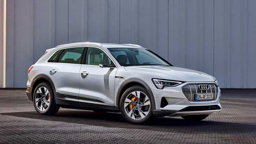 New Base-Spec Audi e-tron Gets 190-Mile Range Rating