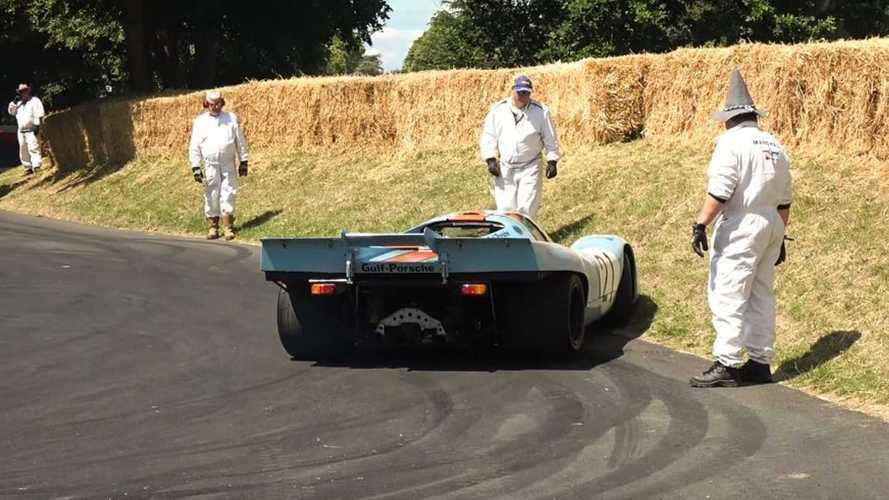 VIDÉO - Quelques drifts ratés lors du Festival of Speed de Goodwood 2019