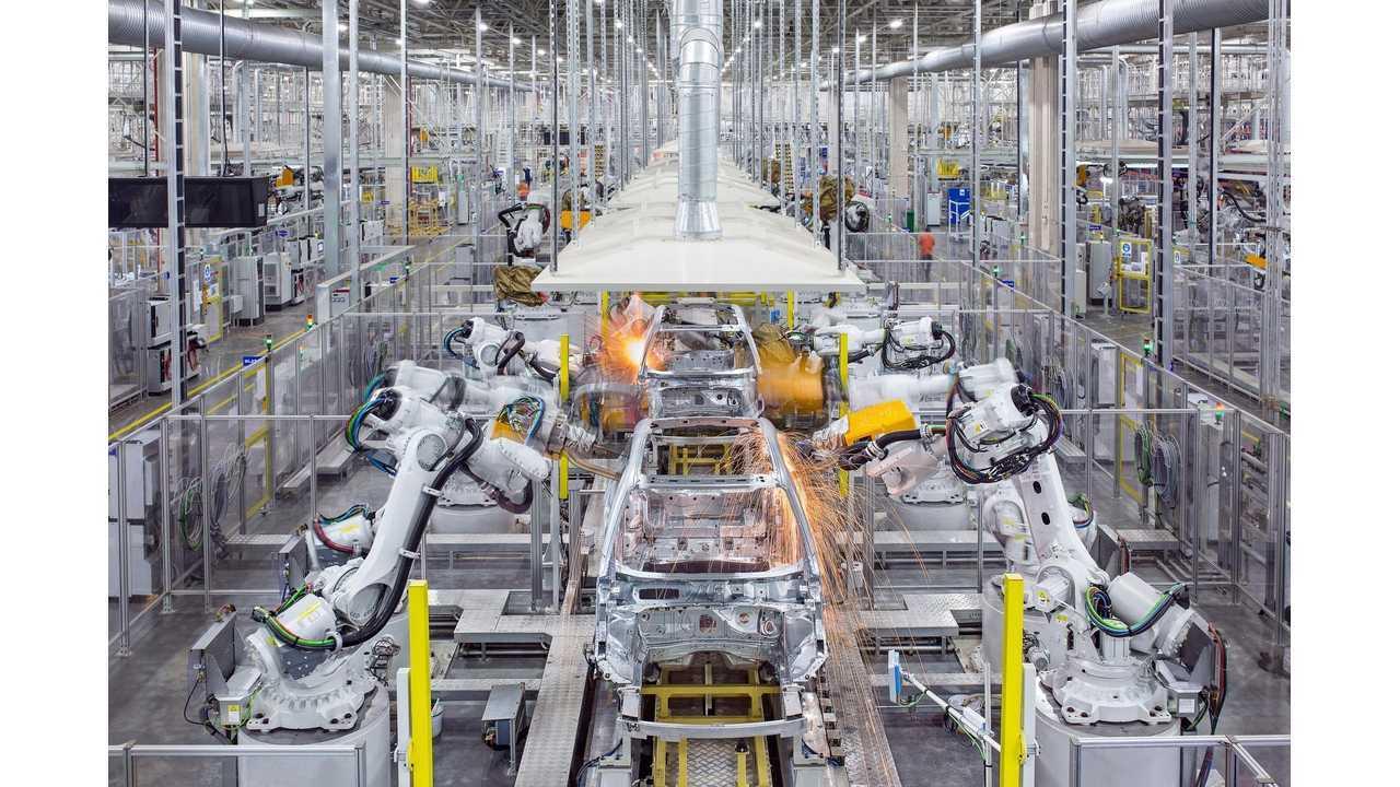 Zhejiang Geely Holding plant in Luqiao, Zhejiang Province, China:
