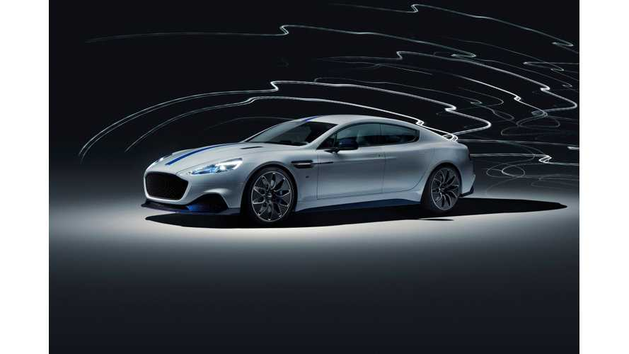 Aston Martin Rapide E Debuts At 2019 Shanghai Auto Show: Video