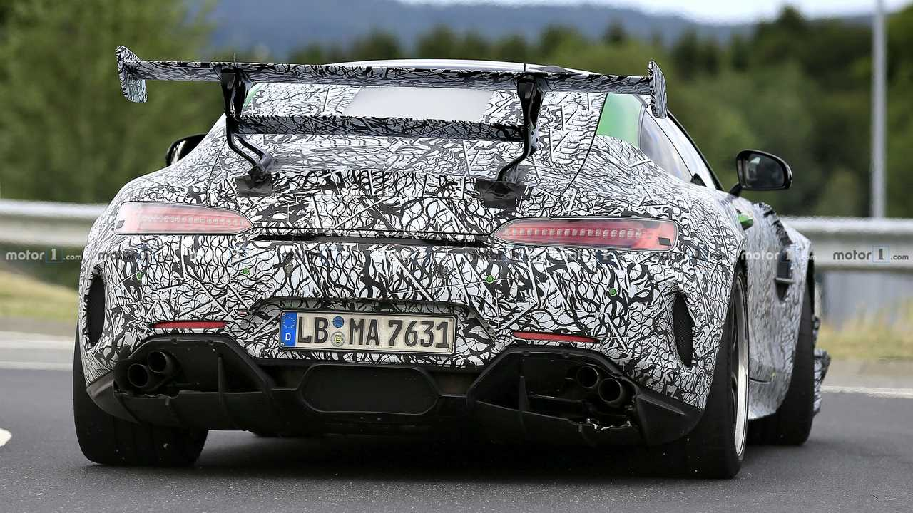 Mercedes-AMG GT R Black Series spy photo