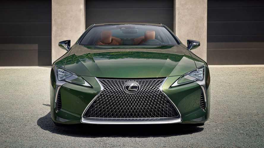 El Lexus LC 500 Inspiration Series 2020 nos tiene verdes de envidia