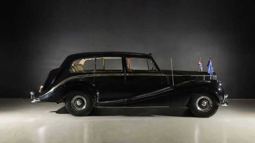 Rare Car Collection With Queen's Rolls Royce Up For Auction
