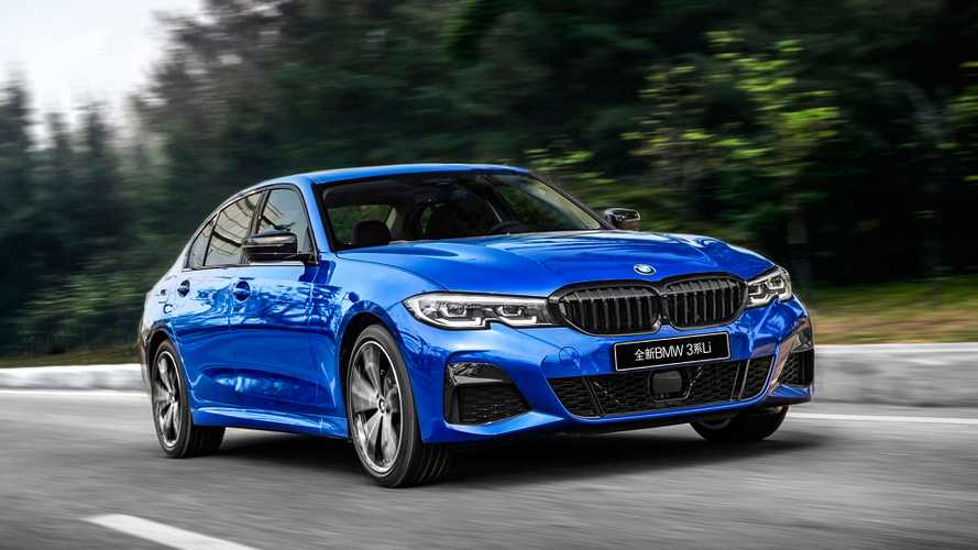 BMW zeigt neue 3er-Langversion in China