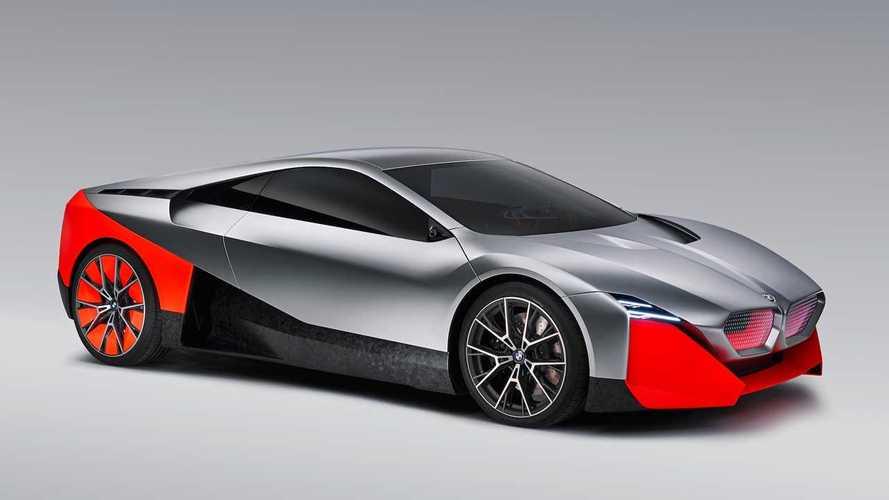 BMW Vision M Next Concept ist ein 600-PS-Hybrid-Coupé
