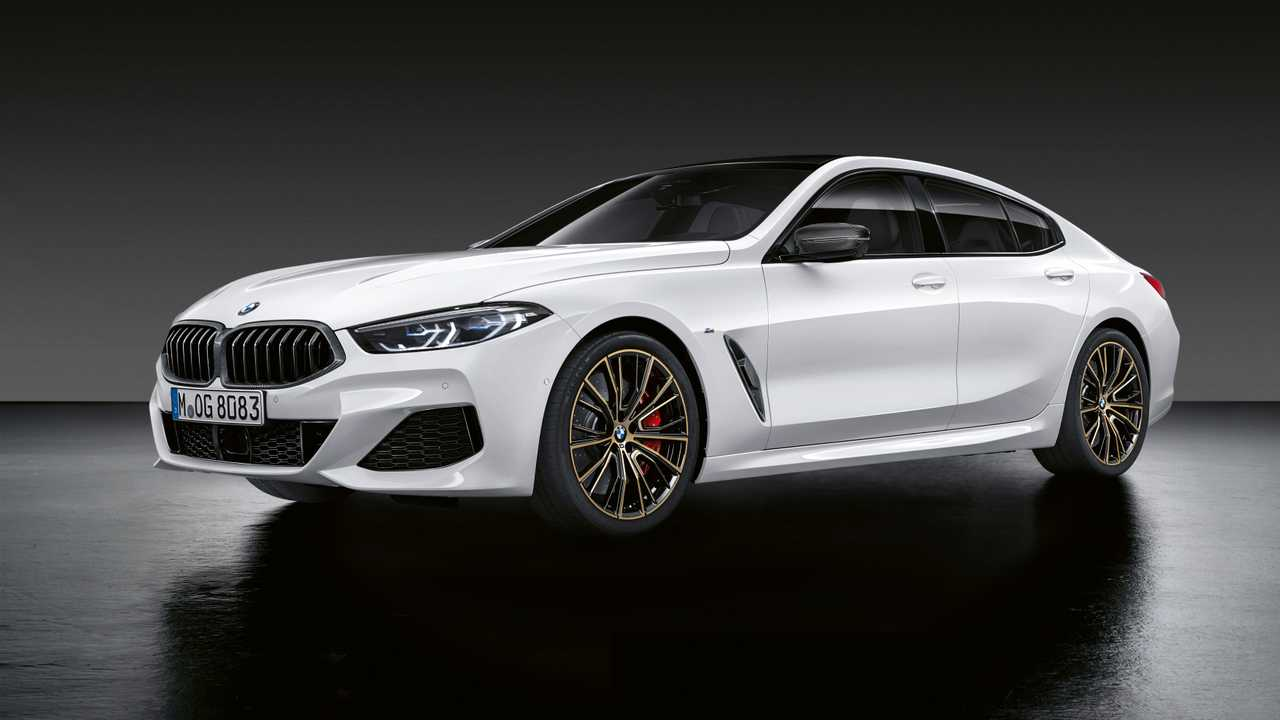 2020 BMW 8 Series Gran Coupe with M Performance parts