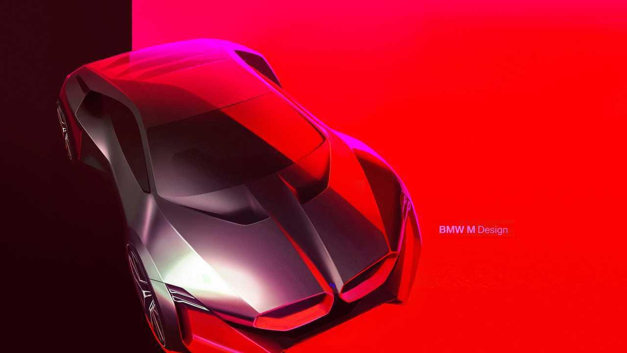 Bmw Vision M Next Concept Debuts Stunning Shape 600 Horsepower