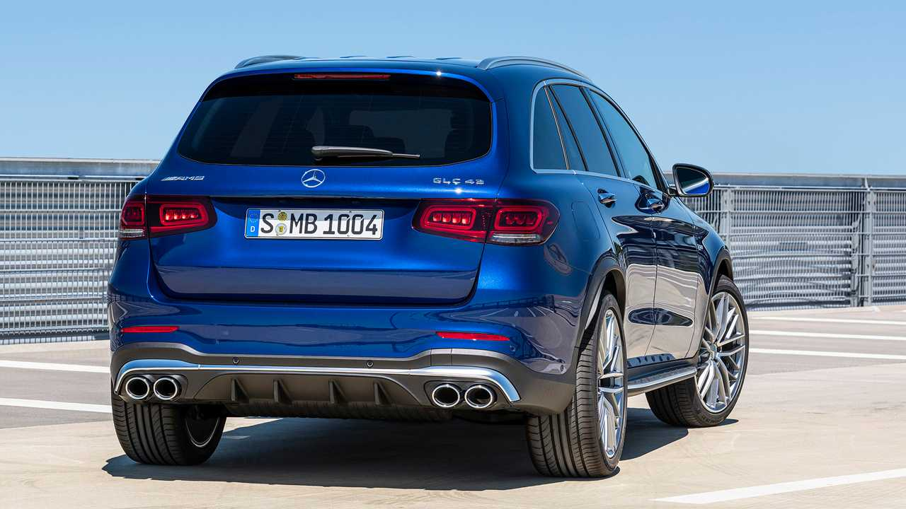 2020 Mercedes-Benz GLC: Update, Changes, More Power, Release >> 2020 Mercedes Amg Glc 43 Debuts With Updated Styling 385 Hp