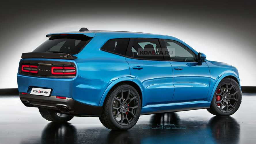 Dodge Challenger SUV renderings