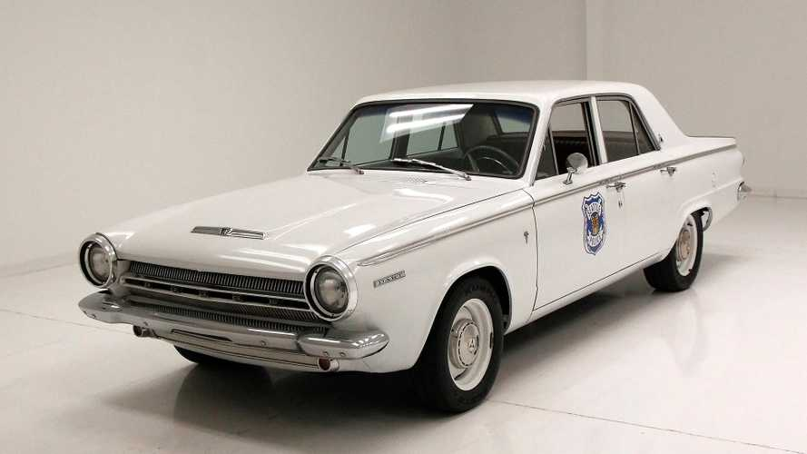 1964 Dodge Dart 270 Is A Tribute To The Seattle Police Department