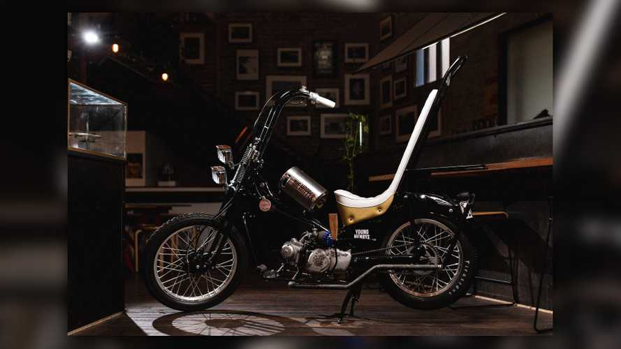 Rising Sun Builds A Beer Slinging Postie Bike And We Are Here For It