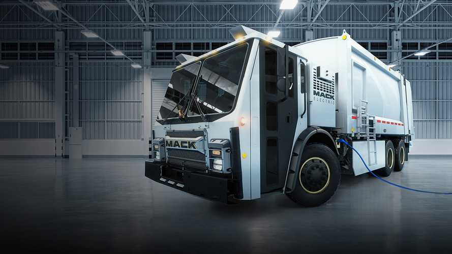 Mack Introduces The Electric LR Truck