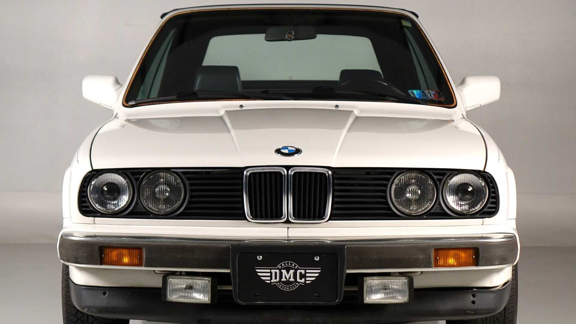 Alpine White 1989 Bmw 325i Is A Lovely Convertible Motorious