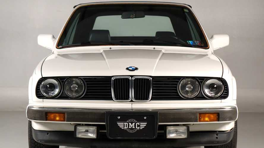 Alpine White 1989 BMW 3 Series Is A Lovely Convertible