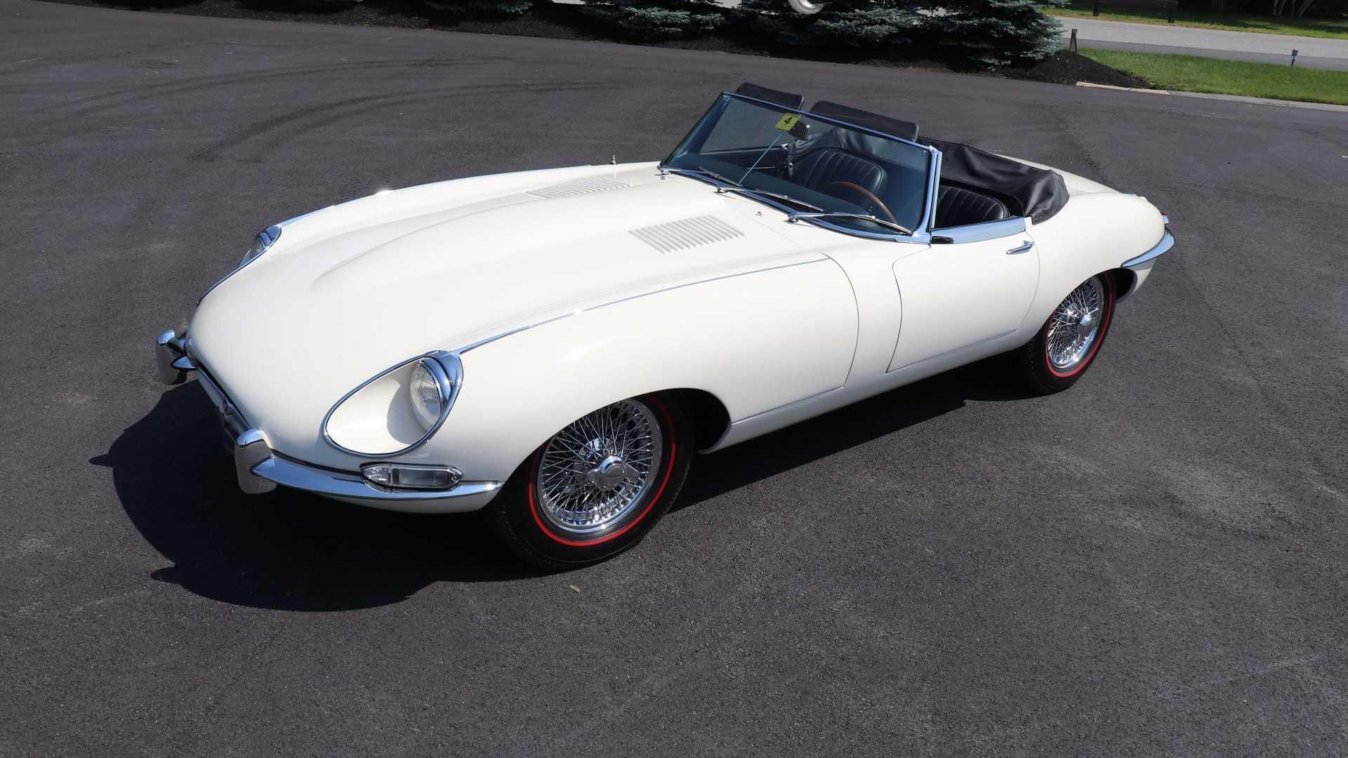 "[""Stunning 1967 Jaguar E-Type Promises Solid Performance""]"