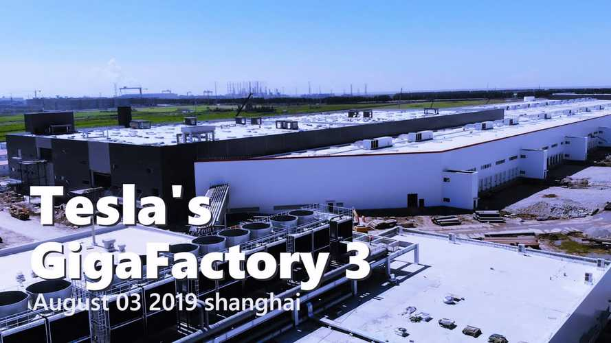 Tesla Gigafactory 3 Construction Progress August 3, 2019: Video
