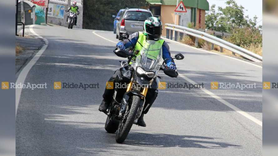 Triumph Tiger 800 Spy Shots