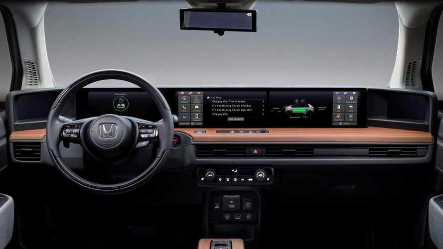 Honda e, gli specchietti digitali e l'intelligenza artificiale