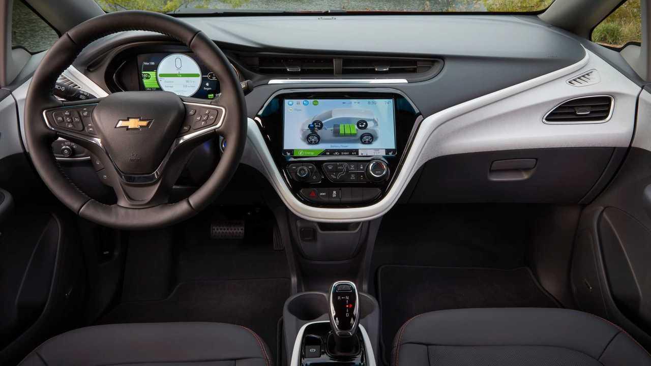 7. Chevrolet Bolt EV