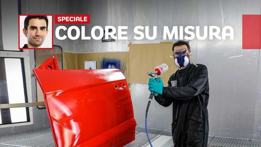 """Ecco come nasce il """"colore"""" di una Lamborghini Urus"""