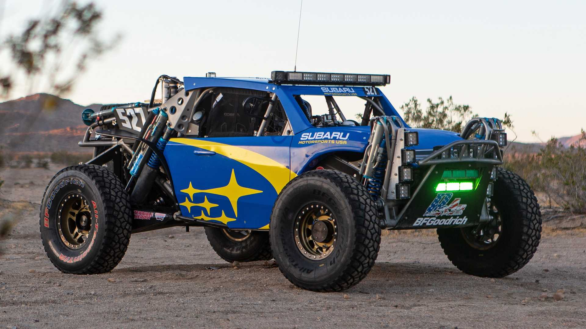 Subaru Crosstrek Desert Racer Looks Ready To Beat Baja