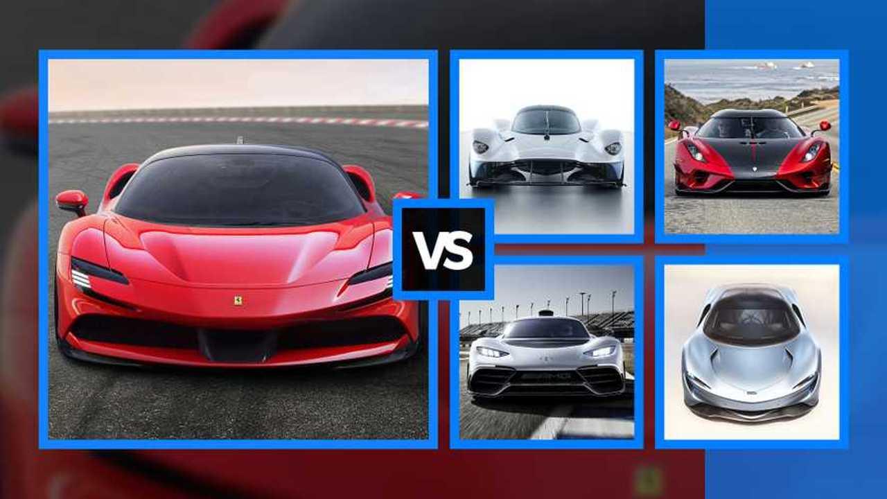 Ferrari SF90 Stradale, sfida al top tra le hypercar ibride