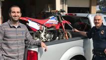 Çalınan Honda CR80