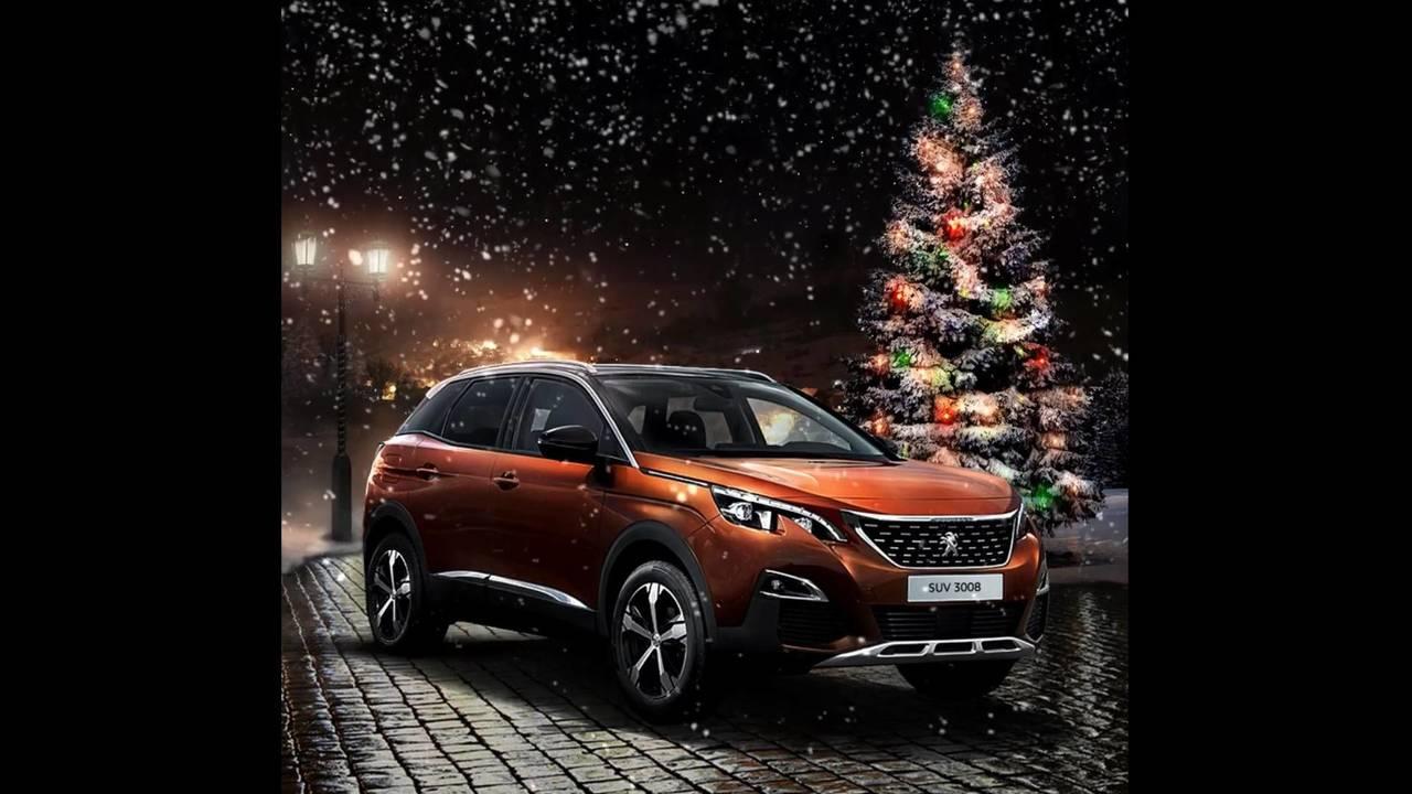 Peugeot karácsonyi üdvözlet