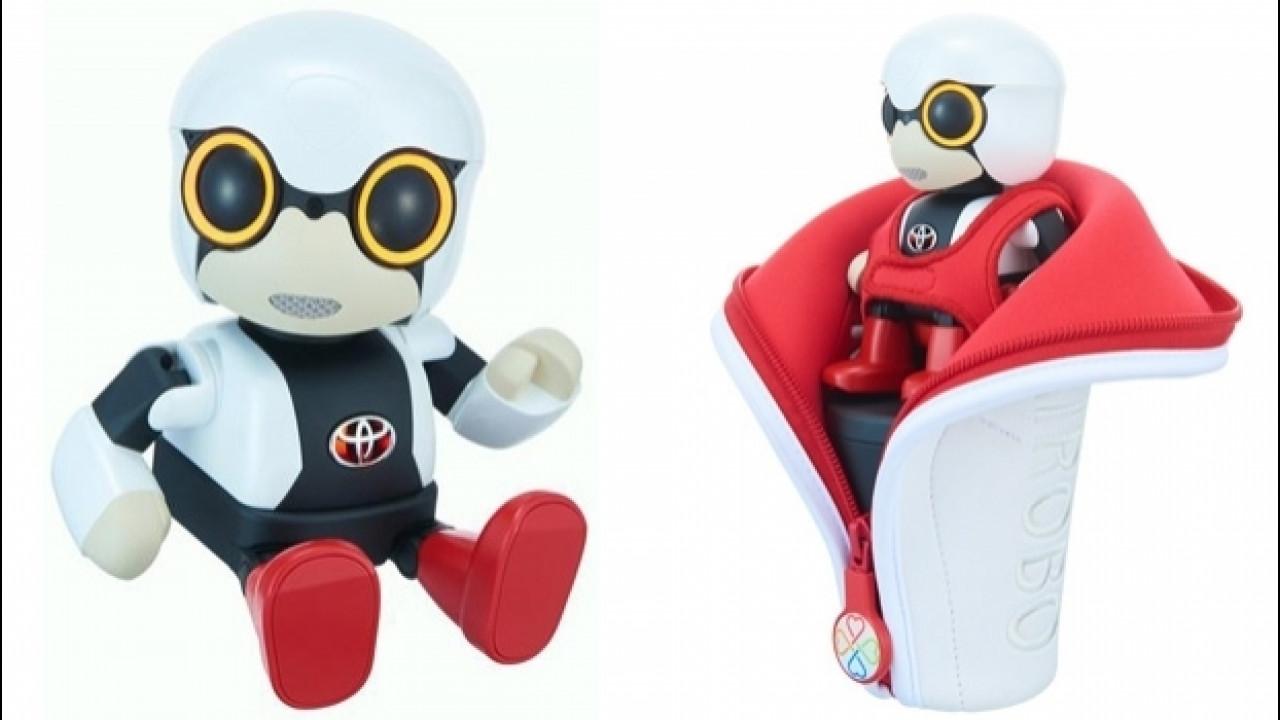 [Copertina] - Toyota Kirobo Mini, il piccolo robot da compagnia