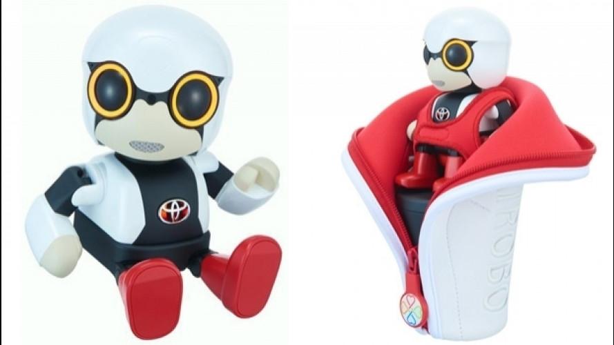 Toyota Kirobo Mini, il piccolo robot da compagnia