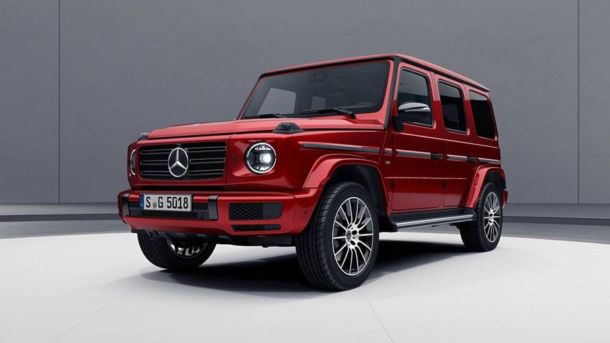 2019 Mercedes G-Class Goes Dark With Optional Night Package