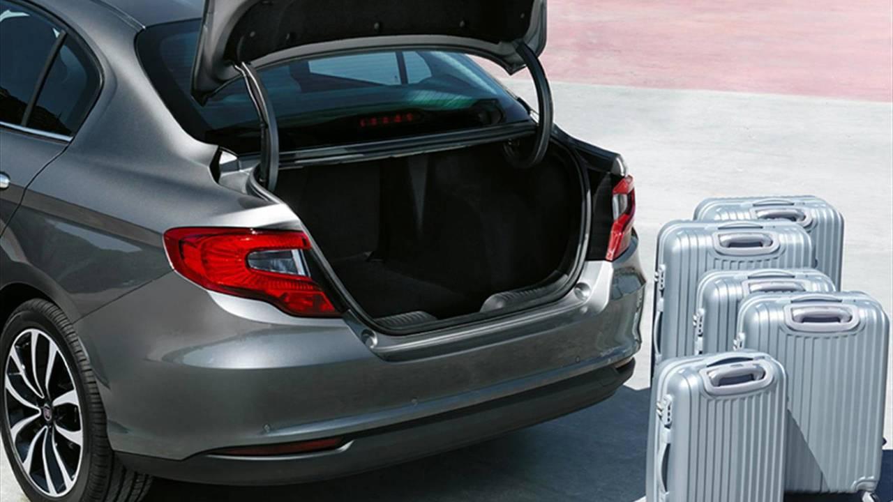 5.- Fiat Tipo 4 puertas: 520 litros de maletero