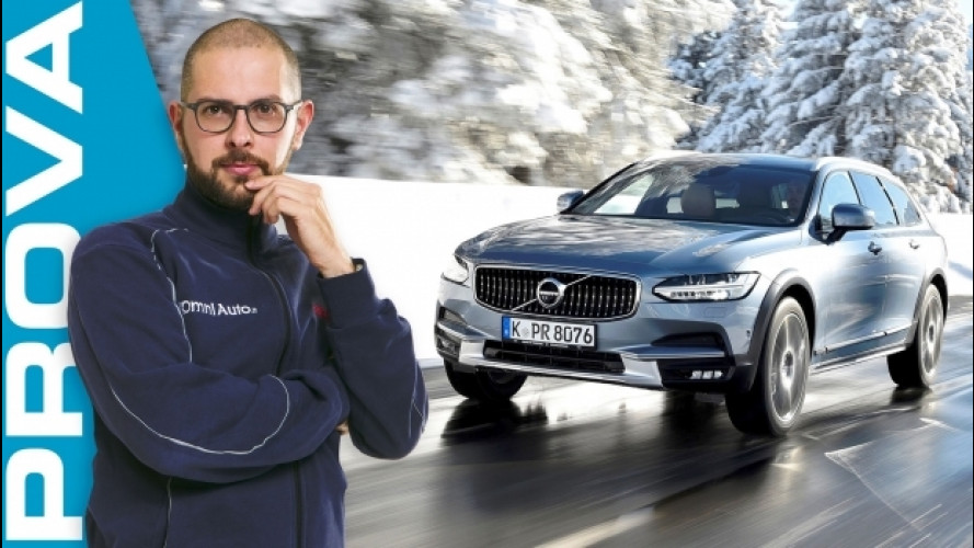 Volvo V90 Cross Country, attrazione svedese... integrale [VIDEO]