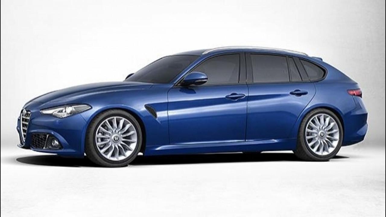 [Copertina] - Alfa Romeo Giulia, la Sportwagon si farà