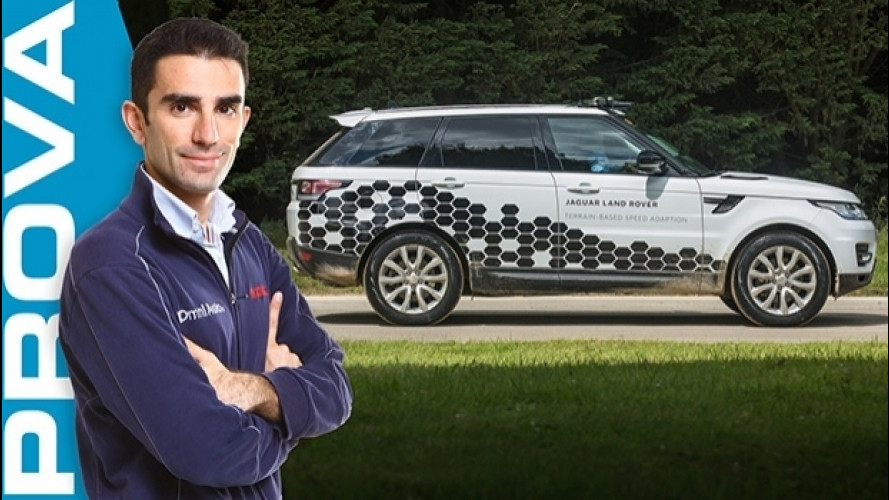 Land Rover, come funziona il pilota automatico per fare fuoristrada [VIDEO]