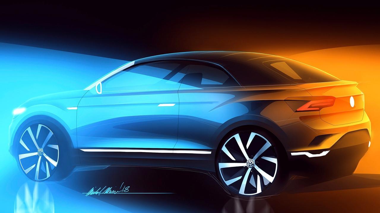 [Copertina] - Volkswagen T-Roc, nel 2020 arriva la cabrio