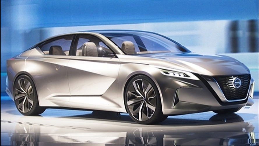 Nissan Vmotion 2.0, il futuro formato berlina