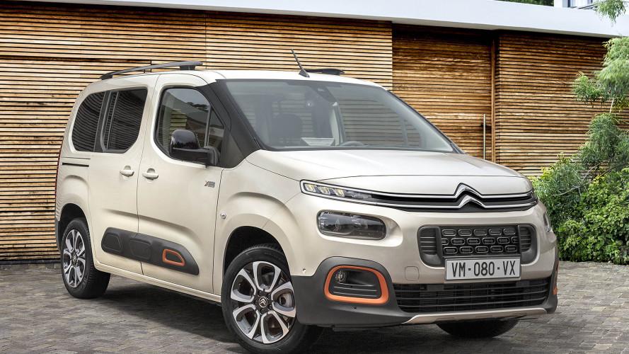 Neuer Citroën Berlingo (2018) steht in Genf