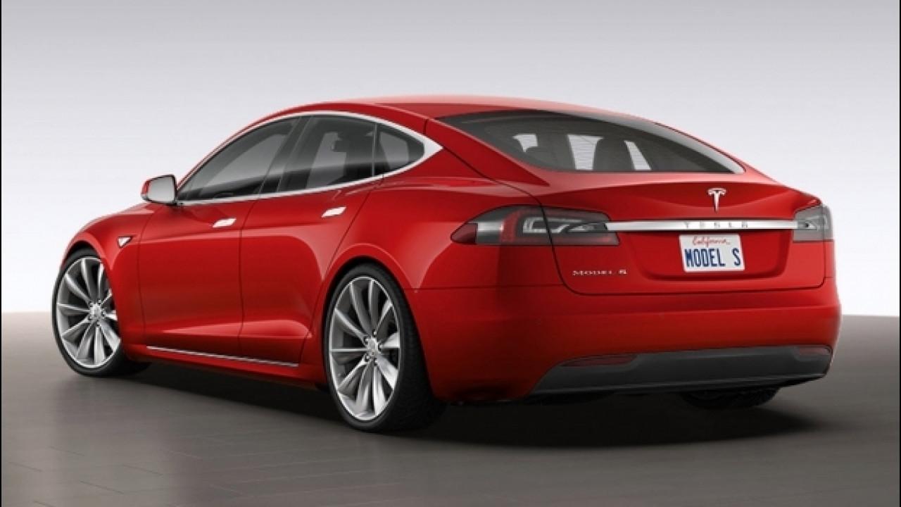 [Copertina] - Tesla, fino a 632 km di autonomia per la Model S 100D